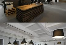 Offices where Ideas have a home. / Office Space can be boring: sometimes