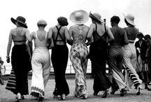 1930's beachwear