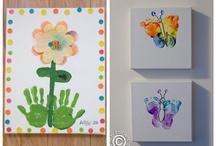 Handprint/Footprint Art