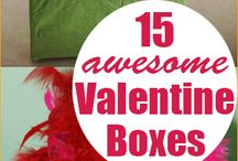 Valentine Boxes / by Diana Hill Lovell