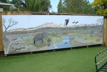 Murals / Large, outdoor Art murals for play centres and preschools