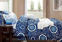 Aqua Notes Twin XL Comforter