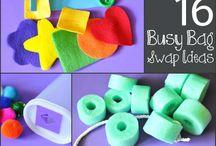 Busy Bag Ideas / by Kathleen Ricci