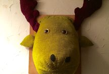 Creative knits / Knitted eclectic animals etc