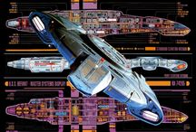 Star Trek & Space Ships