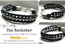 Rockstar black bracelet / by Ria Alemina Ginting