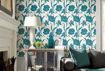 wallpaper / by Alexandra Van Designs