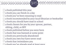 WPL: Reading Challenges / Want a challenge to help you expand your reading horizons? Try one of these! - Tamara, Westerville Public lIbrary / by Westerville Library