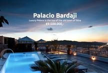 Palacio Bardaji - Ibiza /  Palacio Bardaji is an 18th century palace, built overlooking the ancient town on the highest and most exclusive point of the city of Ibiza, this exclusive location was declared World Heritage site by UNESCO in 1999. Exclusivly sold by Moulin International