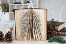 Bokbretting / Book folding / Kva ein kan gjere med kasserte bøker Different ways to fold a book.