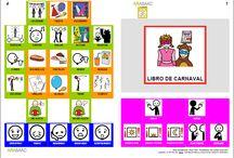 Libros de comunicación aumentativa / SAAC