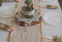 romantic wedding deco