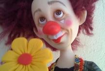 Clowns / Palhaços  / by Cláudia de Castilhos