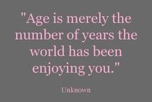 Birthday Quotes / Quotes for birthdays