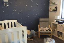 Boys room blue&white