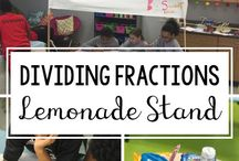 Upper Elementary Math / Fractions, multiples, factors, multiplication, division, geometry, prime numbers ... welcome to a board filled with an assortment of center games and hands-on learning activities for fourth grade and fifth grade!
