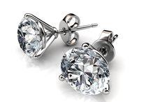 3-Prong Martini Diamond Studs