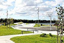 Skatepark Inspiration / Skatepark design inspiration