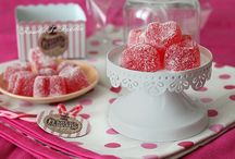 candies, cupcakes and sweet world