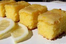 brownis de limón
