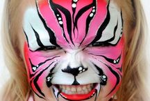 Face painting inspirations / Faces to practise