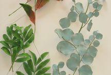 lehdet,  oksat, marjat fondant