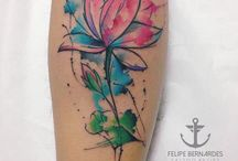 tattoo aquarela