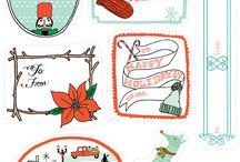 Holidays-Christmas Gift Tags