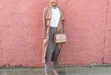 Fashionable Hijabers