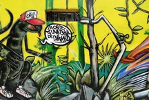 Graffiti / From as early as I can remember I loved Graff Art. Even though I don't pain anymore, I still love it.  / by Weird