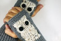 Fingerless mittens & Gloves / by Atölye HobiKeyif