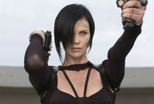 Kick-Ass Heroines / Women in movies who aren't afraid to kick some butt and take some names... / by Rachelle Vaughn