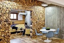 dřevěná stěna