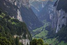 Alpes Suisses / Les paysages superbes des Alpes helvétiques.