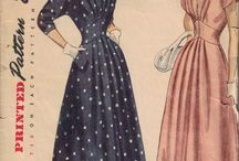 Patterns 1940's / Patterns i want to make