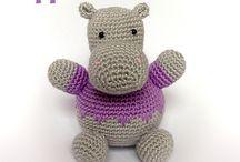 hipopotamo crochet