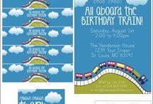 Harrison's 2nd Birthday / Train party