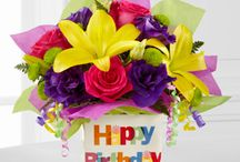 Birthday Flowers / Say Happy Birthday with a beautiful arrangement!