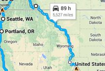 Epic Road Trip #1 / My first solo road trip!  Shooting for Summer 2016! / by PennyM