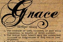 Grace..freely given...don't forget the cost
