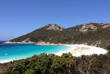 Little Beach / Little Beach is a beautiful white beach in the Two Peoples Bay Nature Reserve, 35 kilometres east of Albany, Western Australia.