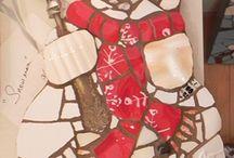 Mosaics - festive