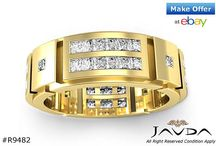 Men's Collection / View our entire range of Men's Wedding Bands on www.javda.com