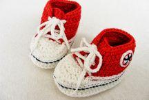 háčkované botečky