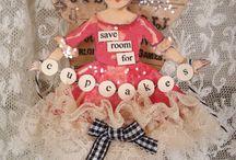 clothes pin dolls / clothes pin dolls