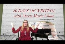 80 Days of Writing with Alexis Marie Chute, Author of The 8th Island Trilogy