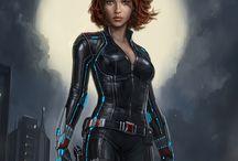 Natasha Romanoff comics