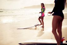 Surfer Girls / by Kula Nalu Ocean Sports