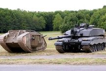 WW I tanks
