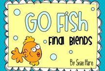 Word Study - Final Blends / by Bluebonnet First